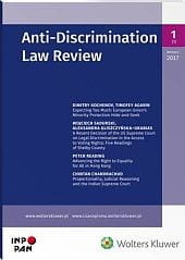 Anti-Discrimination Law Review - Nr 1/2017 [1]