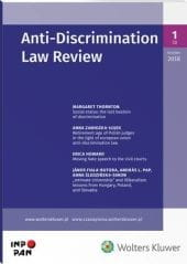 Anti-Discrimination Law Review - Nr 1/2018 [3]