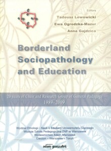 Borderland Sociopathology and Education