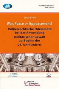 War, Peace or Appeasement?
